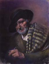 Retrat de vell | Sancho Piqué, Josep