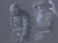 Dos vells | Sancho Piqué, Josep