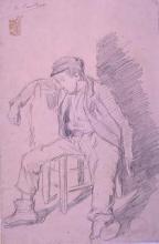 Home assegut | Sancho Piqué, Josep