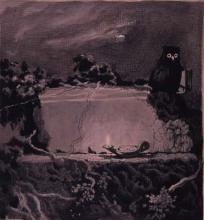 Esbós per un ex-libris | Sancho Piqué, Josep