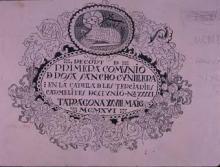 Recordatori primera comunió | Sancho Piqué, Josep