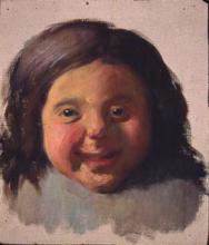 Nena rient | Sancho Piqué, Josep