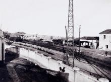 Tarragona. Aspecte voltants estació ferrocarril | Vallvé Vilallonga, Hermenegild